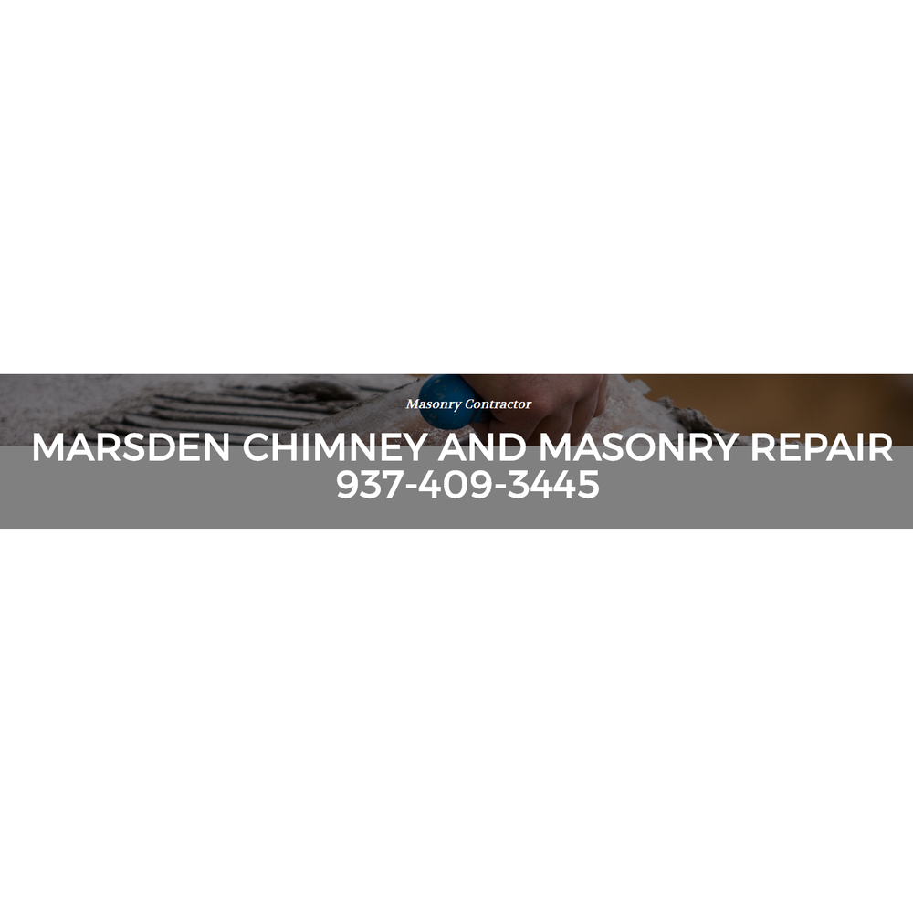Marsden Chimney and Masonry Repair: Jamestown, OH