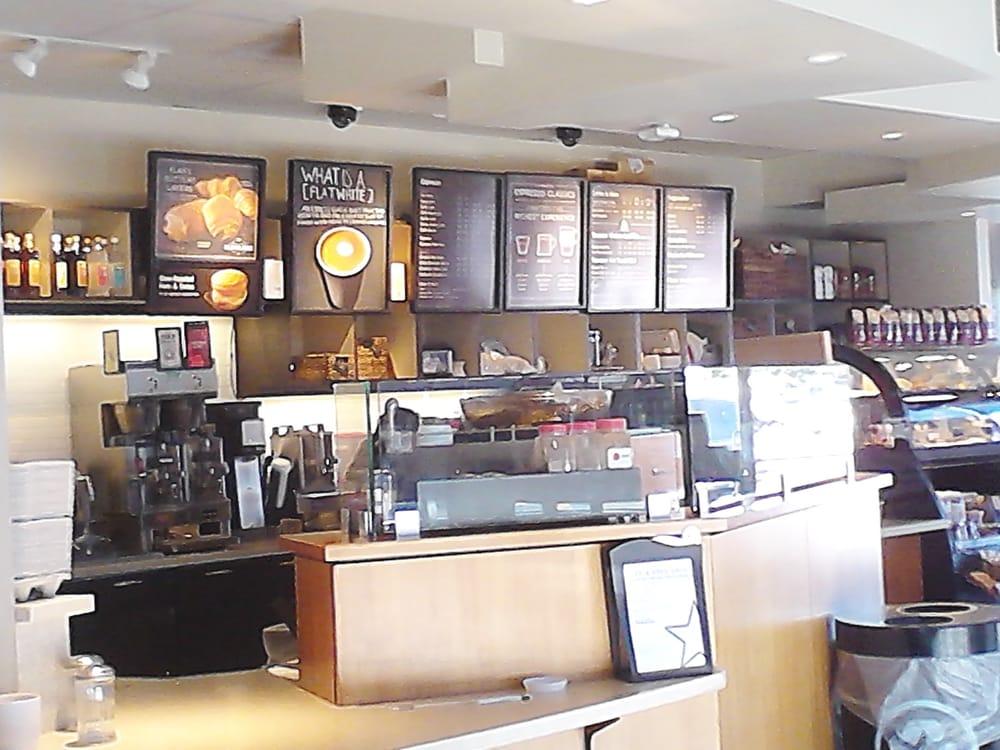 Starbucks 23 84 2461 a santa for Cox paint santa monica