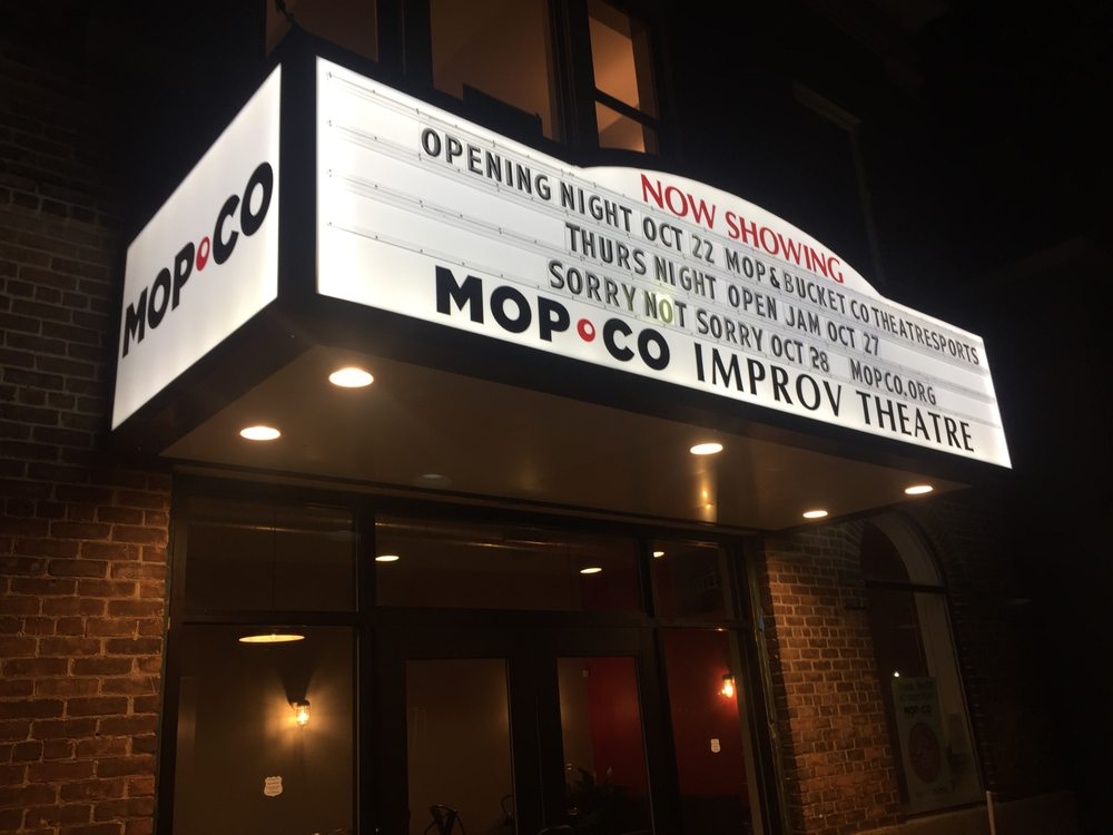 The Mopco Improv Theatre: 10 N Jay St, Schenectady, NY
