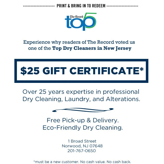 Gentle Touch Cleaners: 1 Broad St, Norwood, NJ