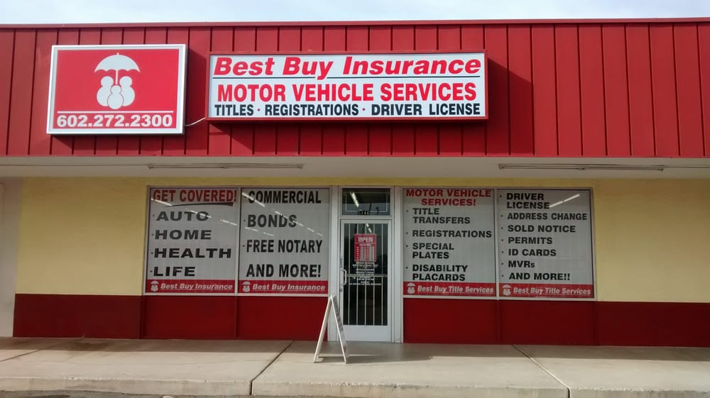 Best Buy Title Services Insurance 5146 W Mcdowell Rd Phoenix
