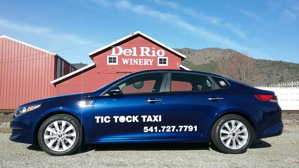 TIC TOCK TAXI: Central Point, OR