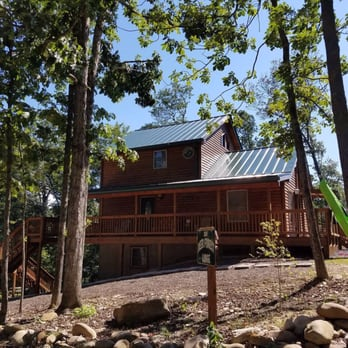 Lion crow cabins holiday rentals 477 forest rd luray for Cabin rentals near luray va