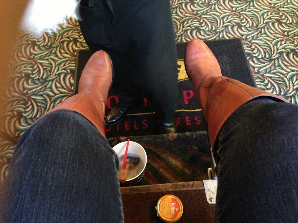 Shoe Shine By Johnny: 1700 Smith St, Houston, TX
