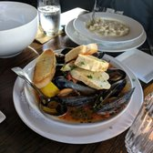 Photo Of Hooked Seafood Restaurant Manchester Nh United States Steamed Mussels