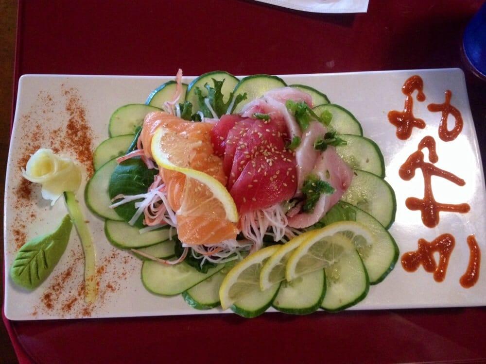 12 piece sashimi from the a la carte menu yelp for Asia sushi bar and asian cuisine mashpee