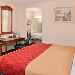 Photo Of Econo Lodge Bellmawr Nj United States King Bed With Desk
