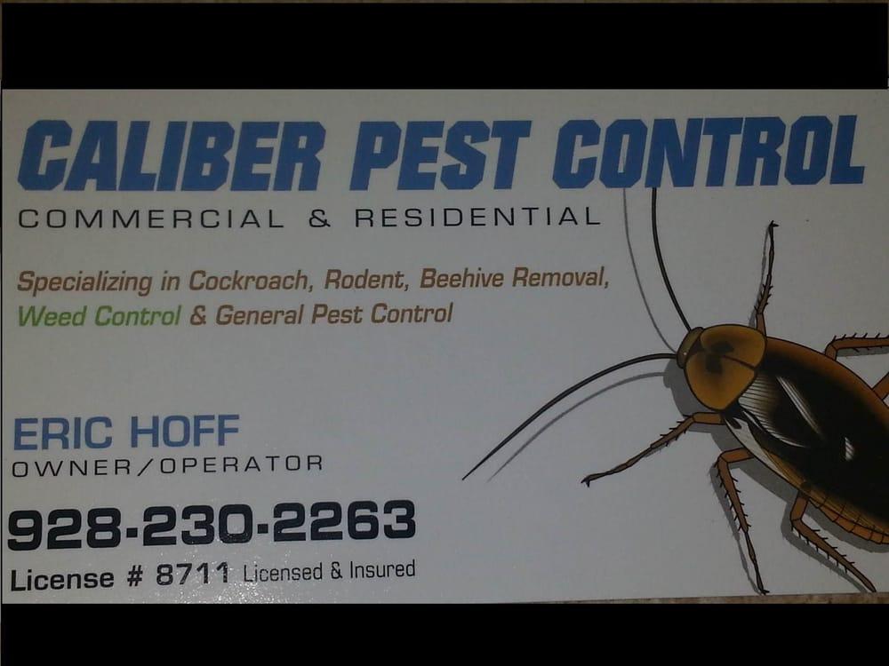 Caliber Pest & Weed Control: Lake Havasu City, AZ