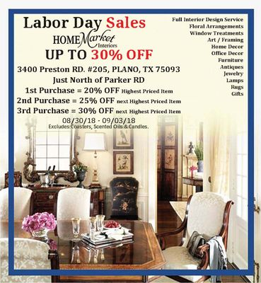 Home Market Interiors 3400 Preston Rd Ste 205 Plano, TX Furniture Stores    MapQuest
