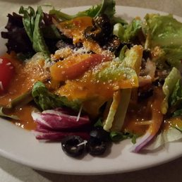 Photo Of Gino S Italian Restaurant Round Rock Tx United States House Salad