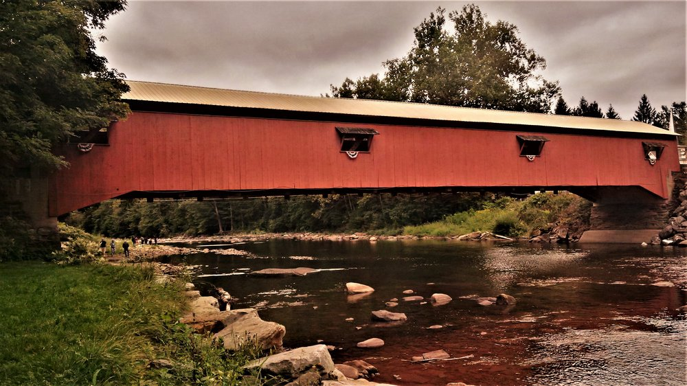 Photo of Forksville Covered Bridge: Forksville, PA