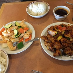 Photo Of Sunny Gardens   Denver, CO, United States. Shrimp And Chicken  Dishes ...