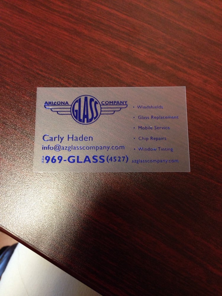 Just one of our examples of business cards! - Yelp