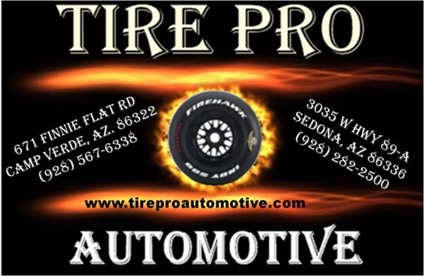 Tire Pro Automotive: 671 Finnie Flat Rd, Camp Verde, AZ