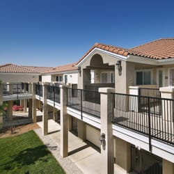 Photo Of Villa Anaheim Senior Apartments   Anaheim, CA, United States.  Courtyard Upper