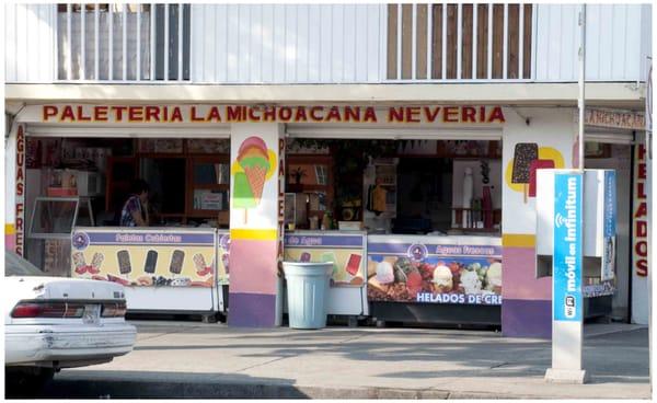 La Michoacana Ice Cream Frozen Yogurt Luis Spota 49 San Simon