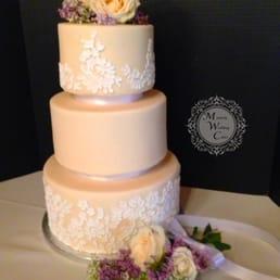 Photo Of Mainely Wedding Cakes   Lisbon Falls, ME, United States. Lace Cake