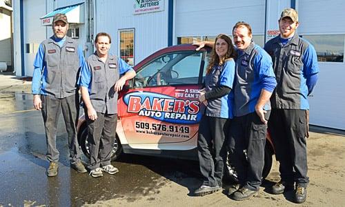 Baker's Auto Repair: 1205 S 18th St, Yakima, WA
