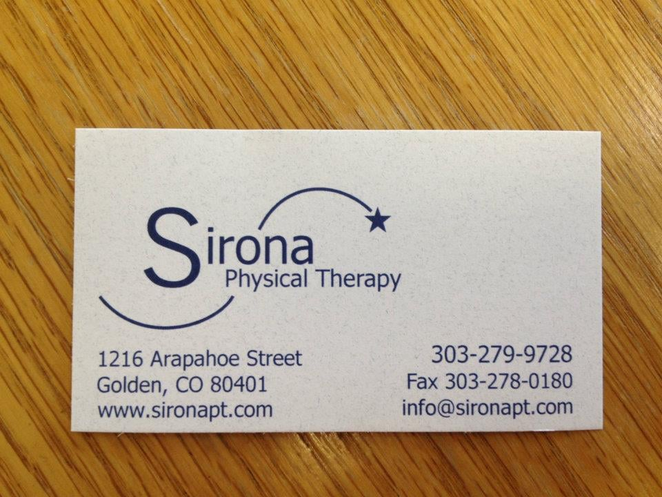 Sirona Physical Therapy - Physical Therapy - 1216 Arapahoe St ...