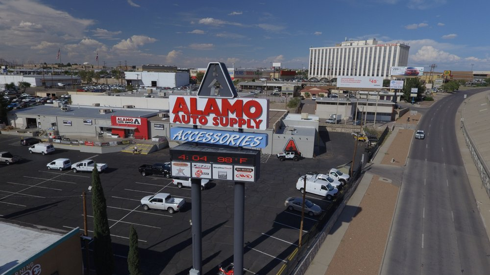 Alamo Auto Supply: 5923 Gateway Blvd W, El Paso, TX