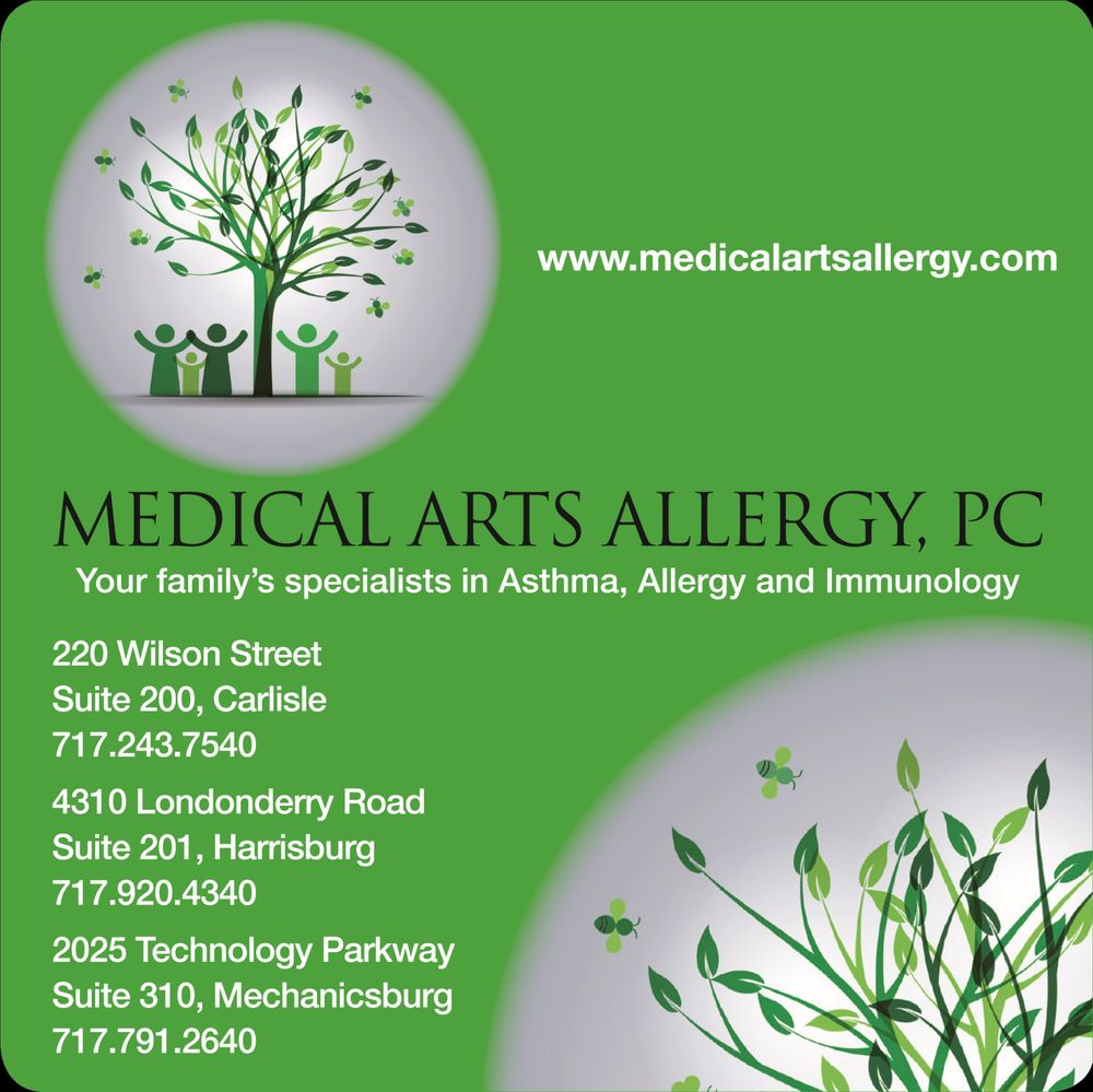 Medical Arts Allergy, PC: 220 Wilson St, Carlisle, PA