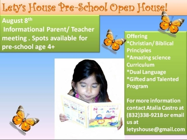 Lety's House In Home Child Care: 708 Janisch Rd, Houston, TX