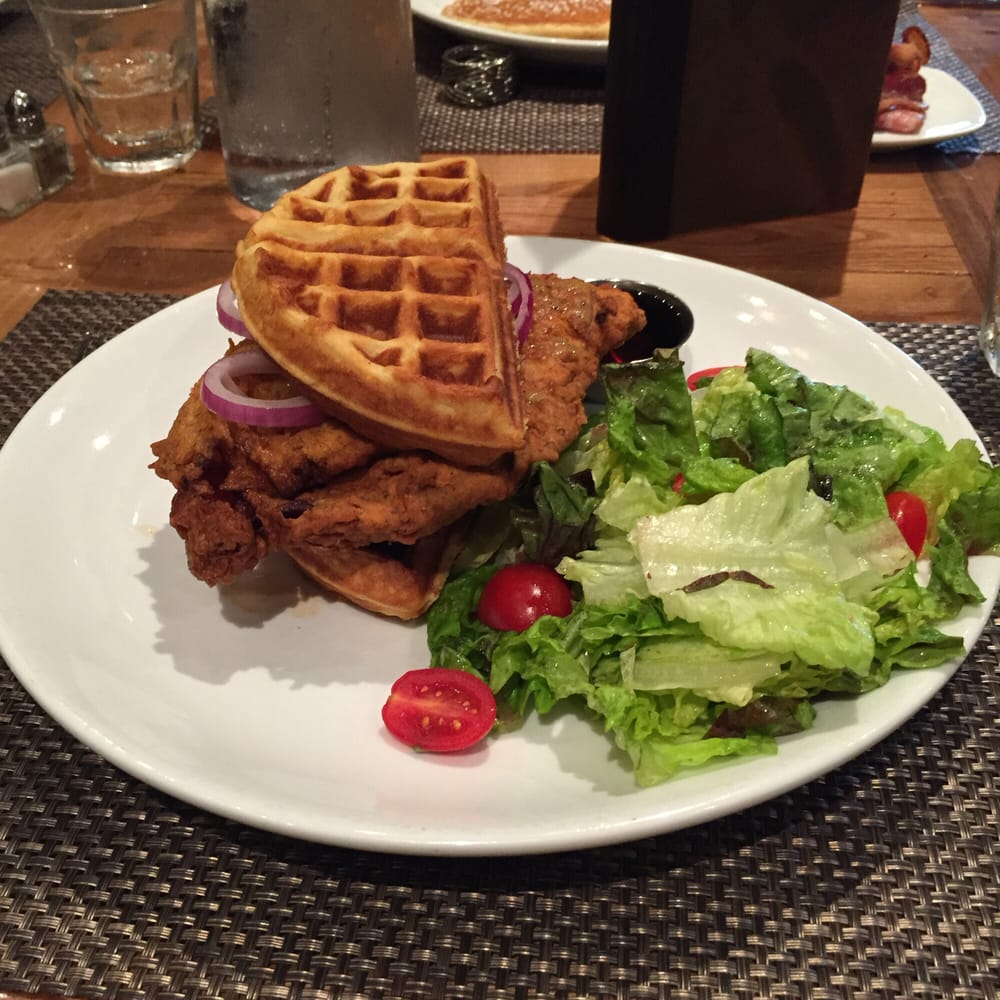 the lovely chicken and waffles with apple butter yelp. Black Bedroom Furniture Sets. Home Design Ideas