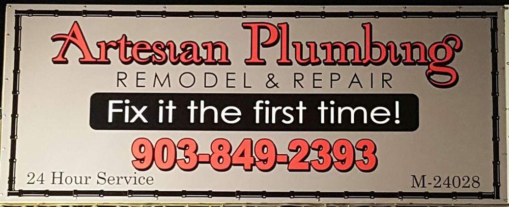 Artesian Plumbing: 104 Dobbs St, Chandler, TX