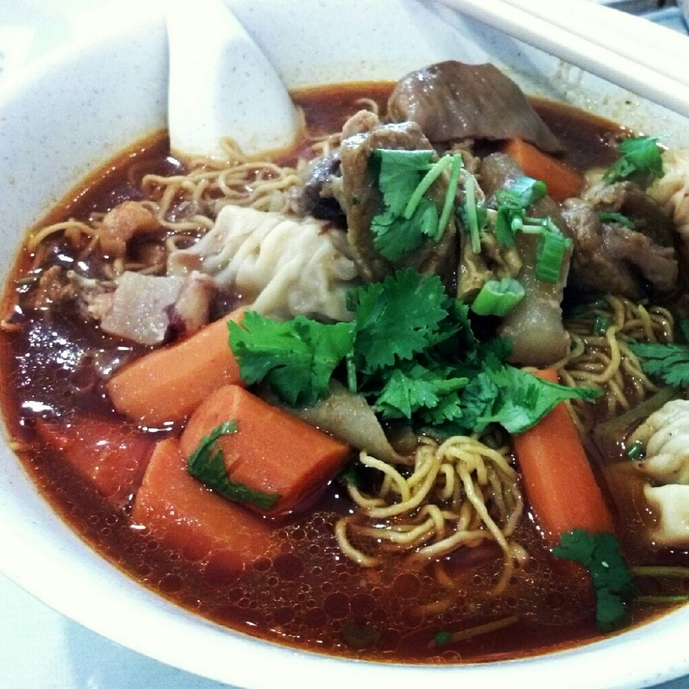 Beef Stew And Wonton Noodle Soup Yelp