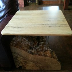Photo Of Fabulous Furniture   Boiceville, NY, United States. Spalted Maple  With Polycarbonate
