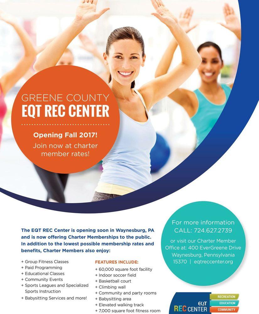 EQT Rec Center: 400 EverGreene Dr, Waynesburg, PA