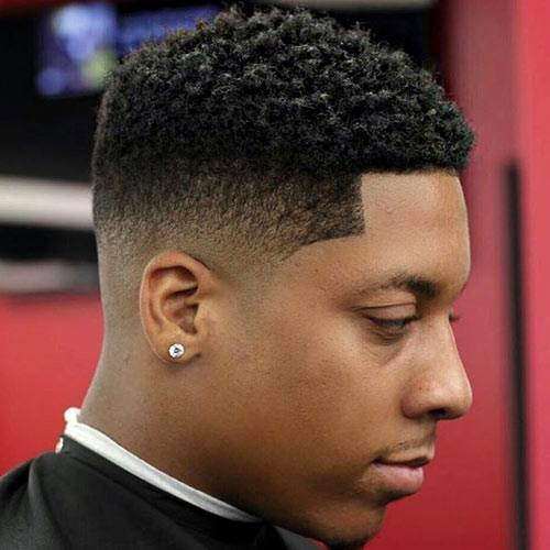 High Top Fade Black Men Haircuts In Singapore Singapore Black