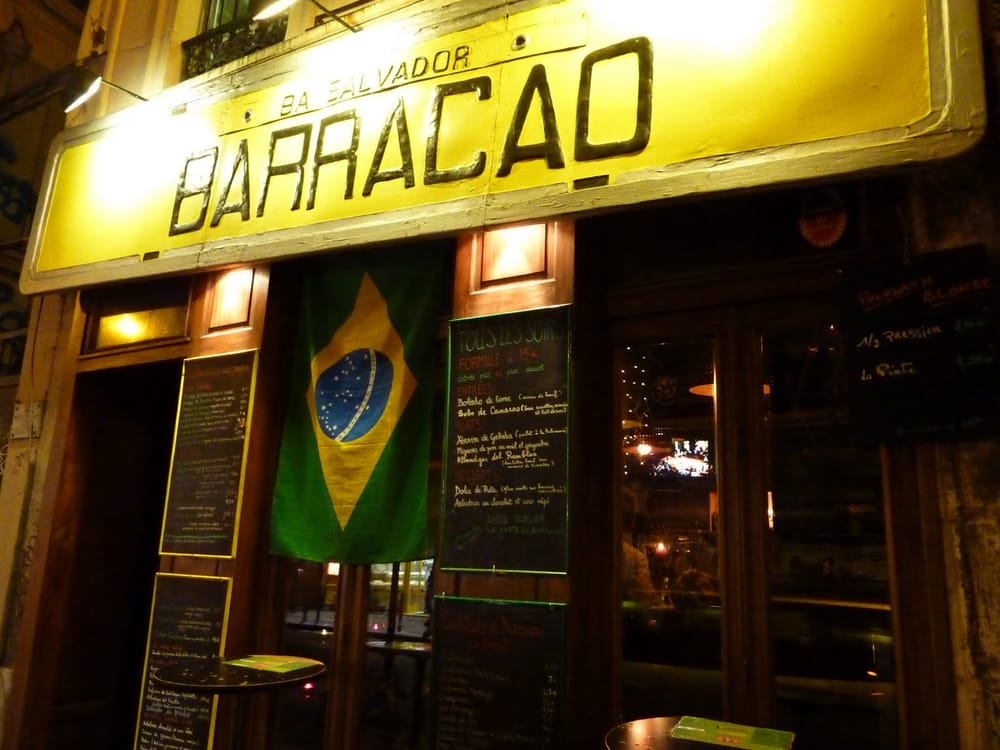 Restaurant Barracao Rue Oberkampf