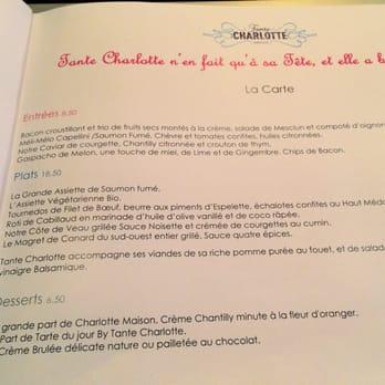 Tante charlotte 59 photos 128 avis fran ais 7 rue for Menu pour un diner entre amis
