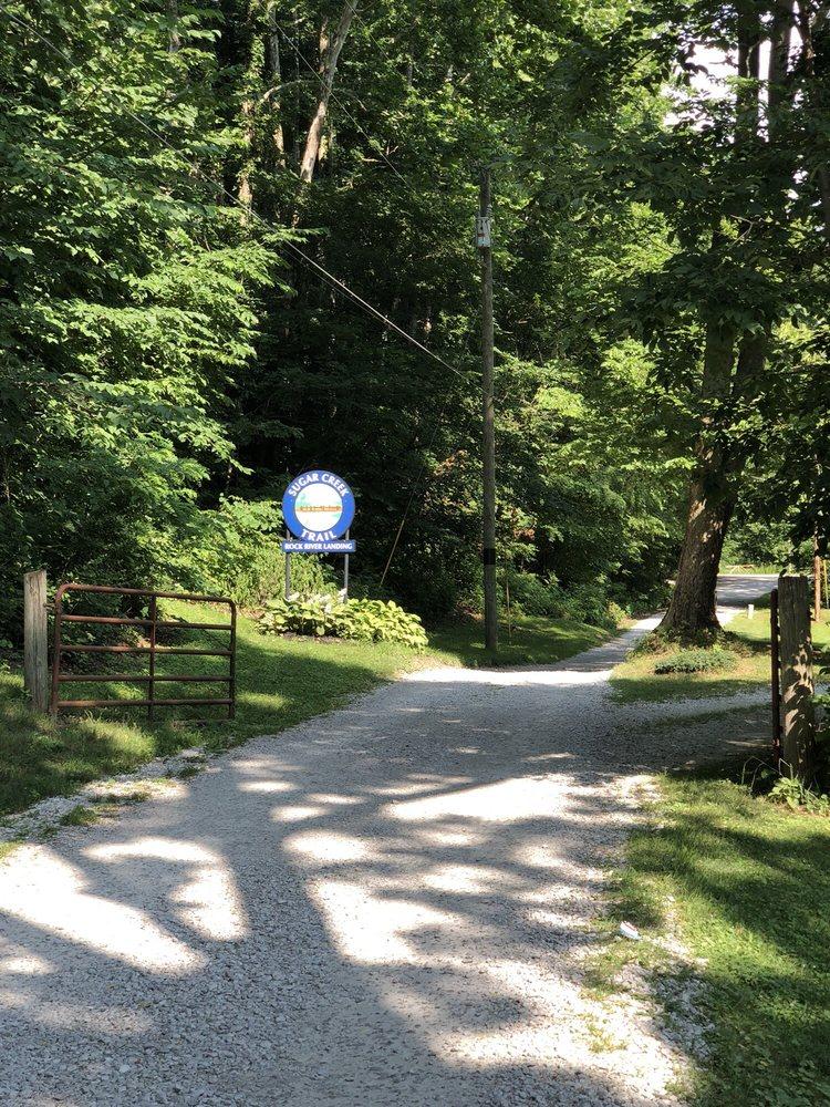 Sugar Creek Trail: 1120 Big Four Arch Rd, Crawfordsville, IN