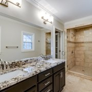 Renovated Utility Room With Photo Of Gemini Contracting   Lexington, KY,  United States. Master Bath Remodel.