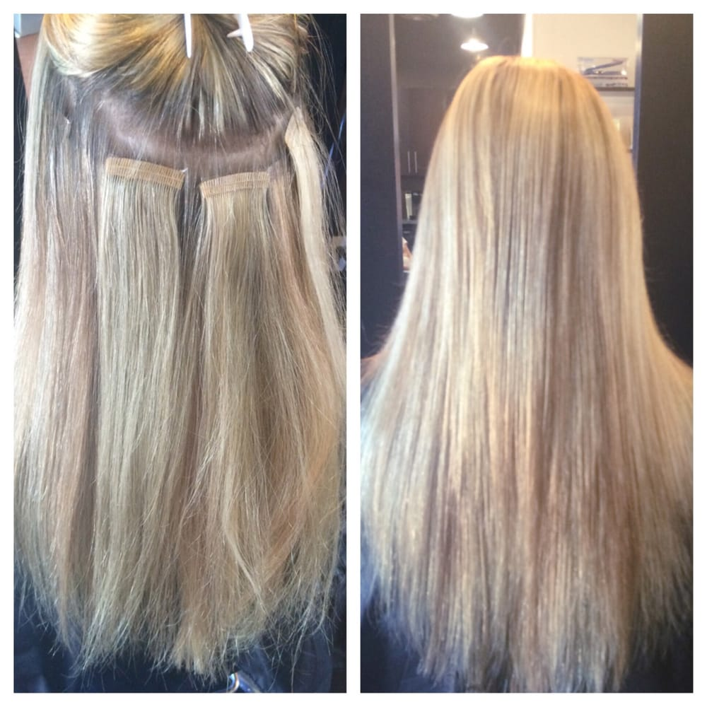 Hair By Jessie Tape In Extensions Are A Great Way To Add Fullness