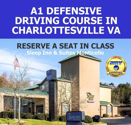 A-1 Defensive Driving School: 1200 5th St SW, Charlottesville, VA