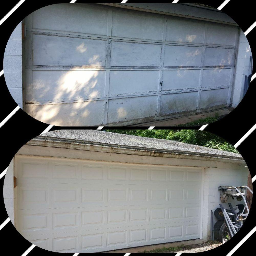 16x7 replacement from wood to a clopay garage door yelp for 16 x7 garage door