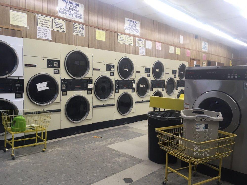 Sherrill Coin OP Laundry: 306 E Buchel Ave, Karnes City, TX