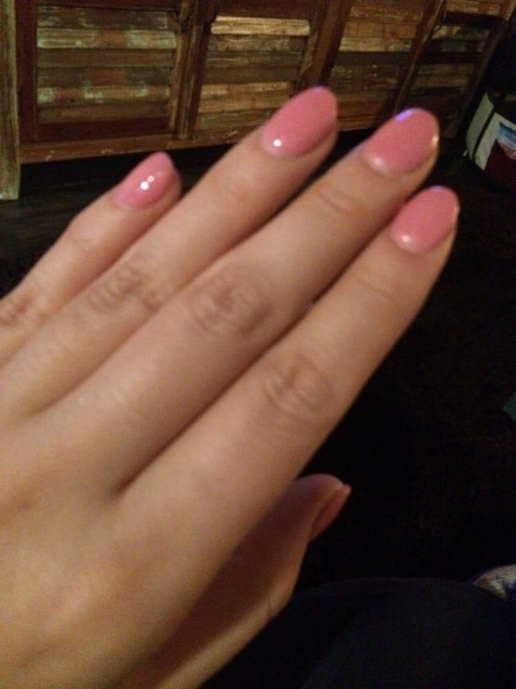 Acrylic powder on natural nails - Yelp