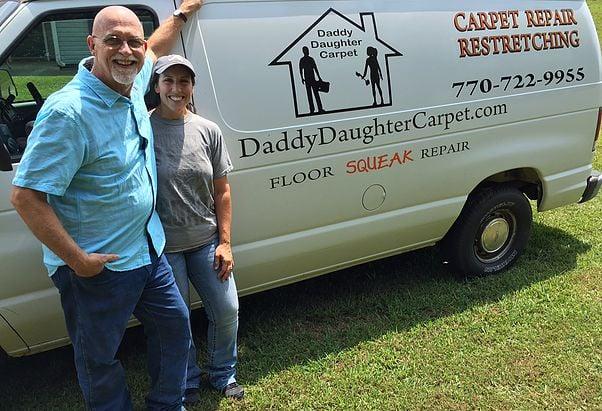 Daddy Daughter Carpet
