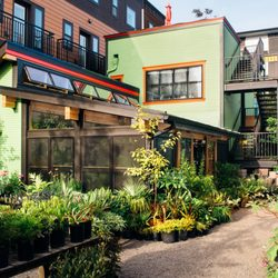 Photo Of Pistils Nursery Portland Or United States The Solarium Exterior And