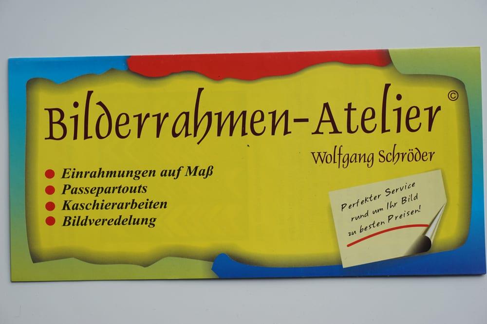 Bilderrahmen - Atelier Wolfgang Schröder - Kunstgalerie - Dirminger ...