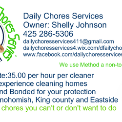 photo of daily chores services lake stevens wa united states