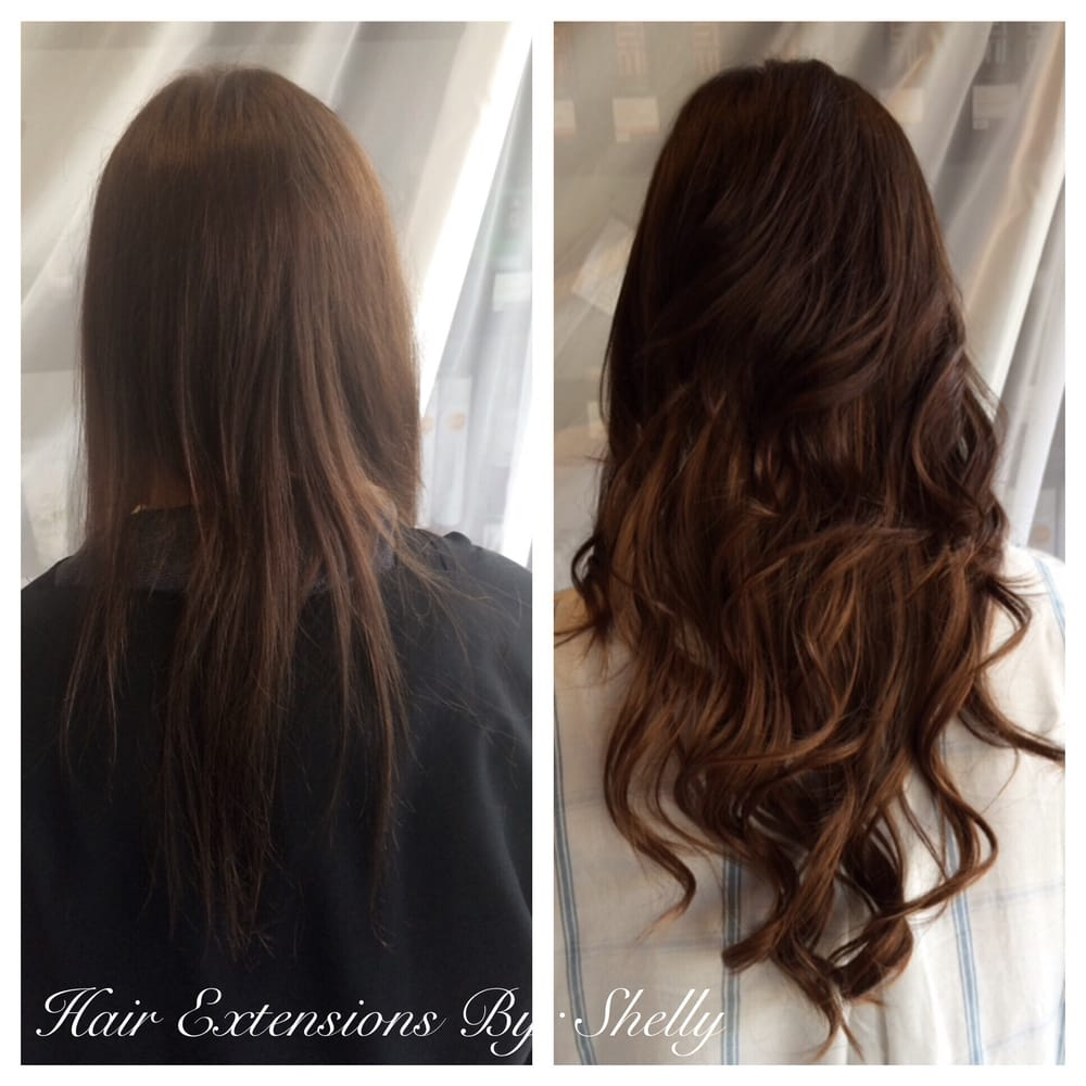 Hair Extensions With Shelly Glosssalonboca Beforeandafter
