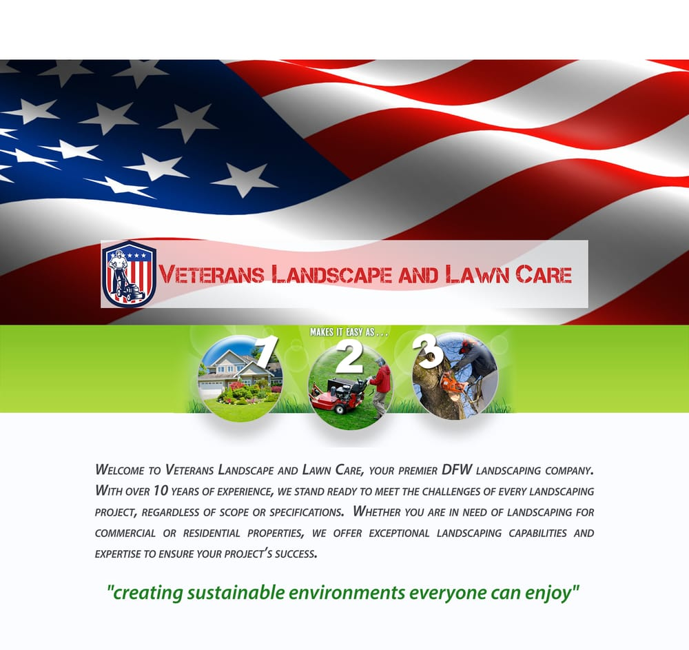 Veterans Landscape and Lawn Care: 4855 N Custer Rd, Prosper, TX