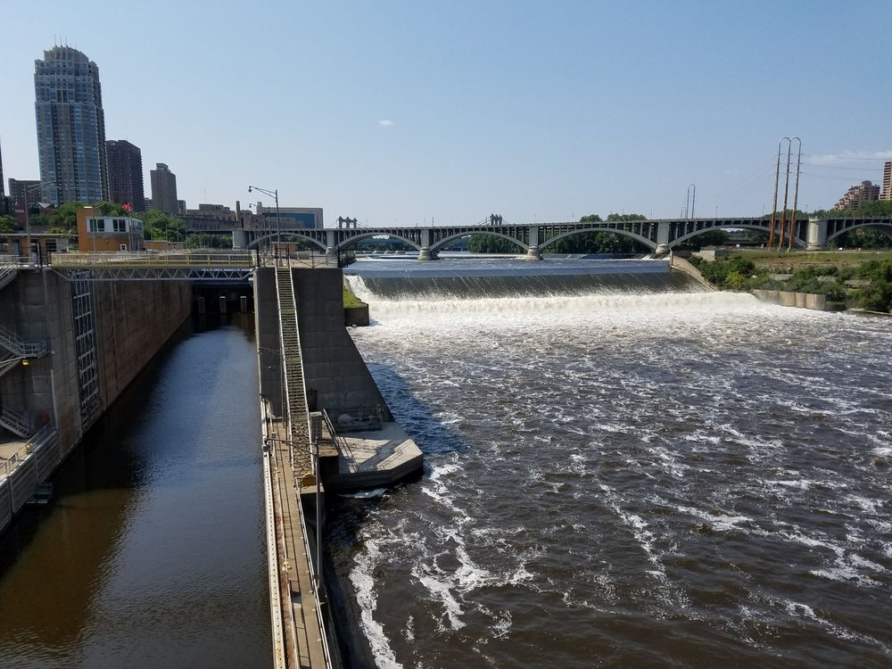 Upper St. Anthony Falls Lock and Dam: 1 Portland Ave S, Minneapolis, MN