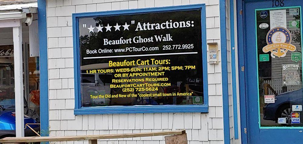 Beaufort Cart Tours: 108 Middle Ln, Beaufort, NC