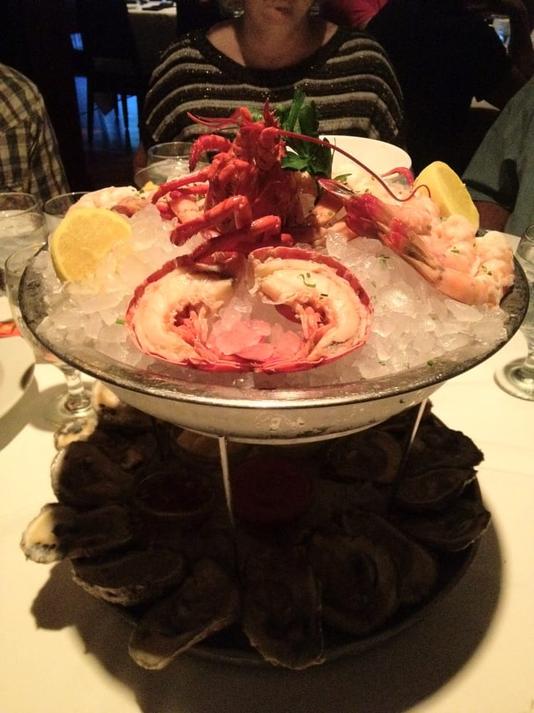 If you can splurge get the seafood tower yelp for Wild fish san antonio
